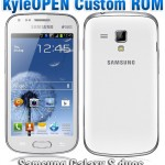 How To Install KyleOpen Rom On Samsung Galaxy S Duos GT-S7562