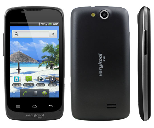 verykool s732 Android 2.3