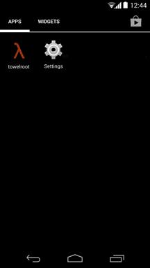 Towelroot Installed On Galaxy Mega 5.8