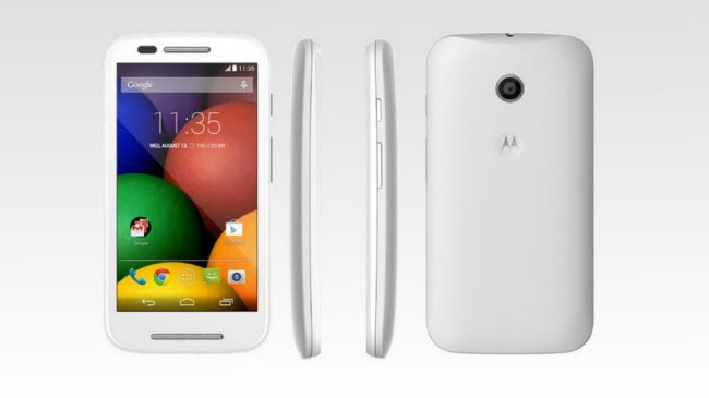 Install Stock ROM Firmware On Moto E