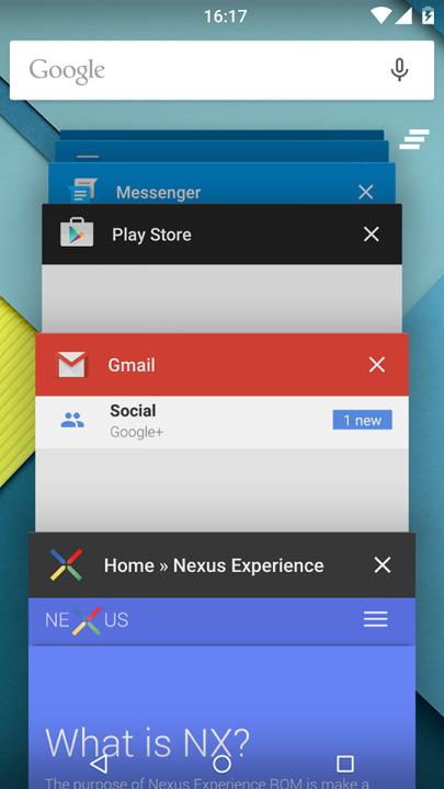Nexus Experience ROM Moto G 2013