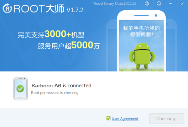 vRoot For Rooting Karbonn A6