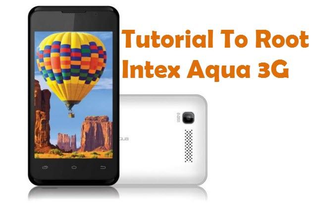 Root Intex Aqua 3G