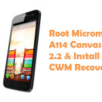 How To Root Micromax A114 Canvas 2.2 And Install CWM Recovery
