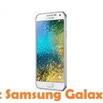 How To Root Samsung Galaxy E5 Android Smartphone