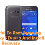 How To Root Samsung Galaxy S Duos 3 Android Smartphone