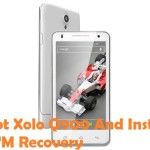 How To Root Xolo Q900 And Install CWM Recovery
