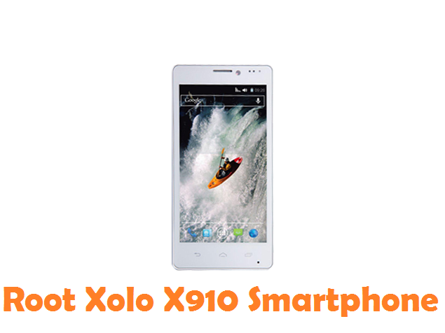Root Xolo X910 Android Device