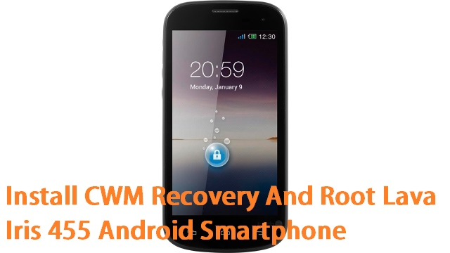 Root Lava Iris 455 And Install Recovery