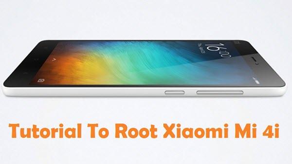 Root Xiaomi Mi 4i Android Smartphone