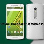 How to unlock bootloader of Moto X Play