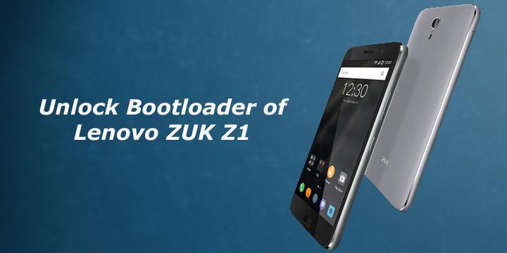 Unlock Bootloader and Install Custom Recovery on Lenovo Zuk Z1
